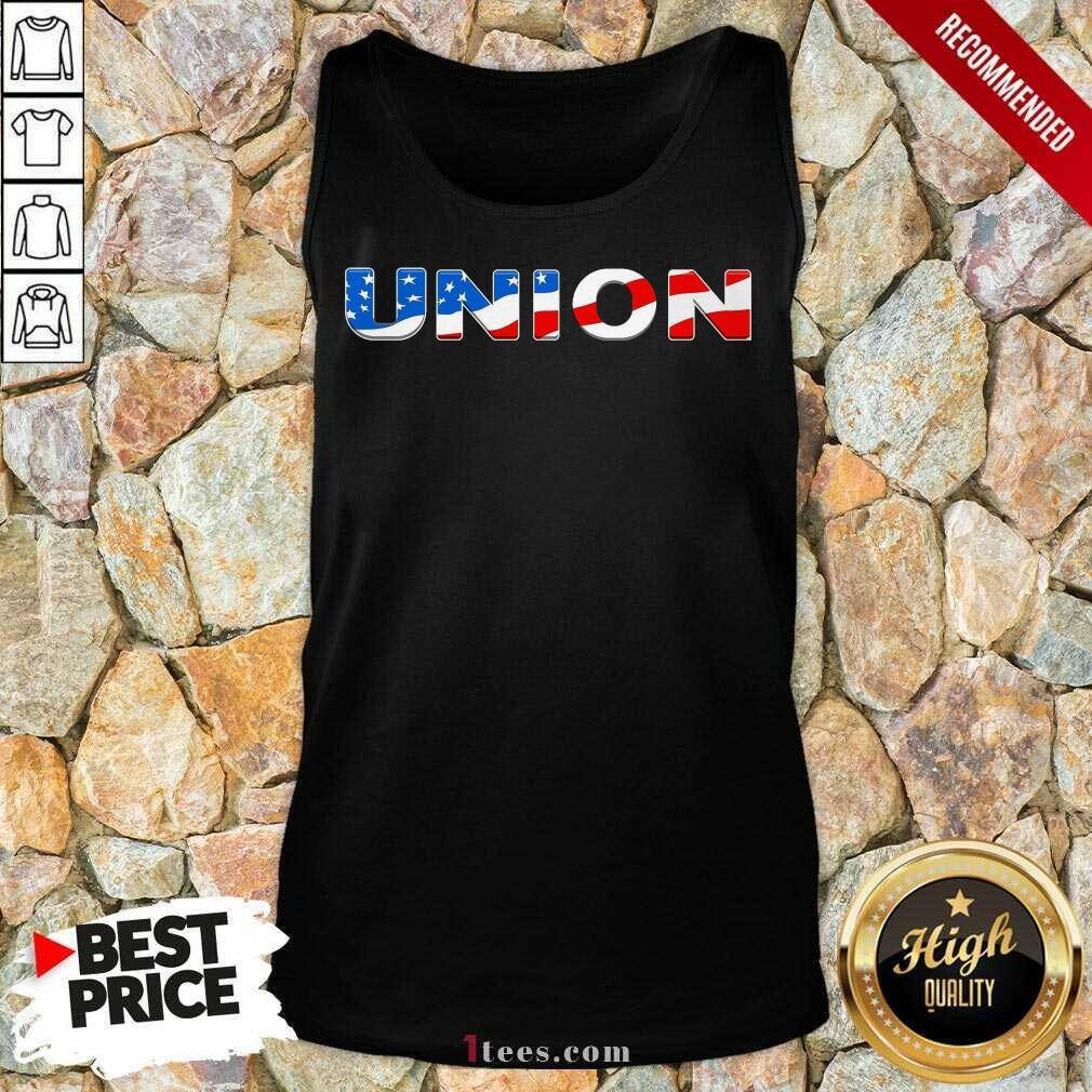 Union American Flag Tank Top