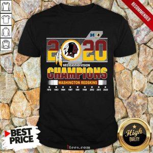 2020 Nfc East Division Champions Washington Redskins 1972 2020 Shirt-Design By 1Tees.com