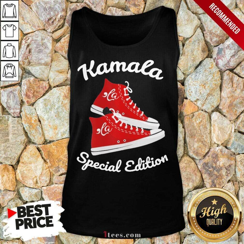Comma La Kamala Harris Sneakers Tank Top