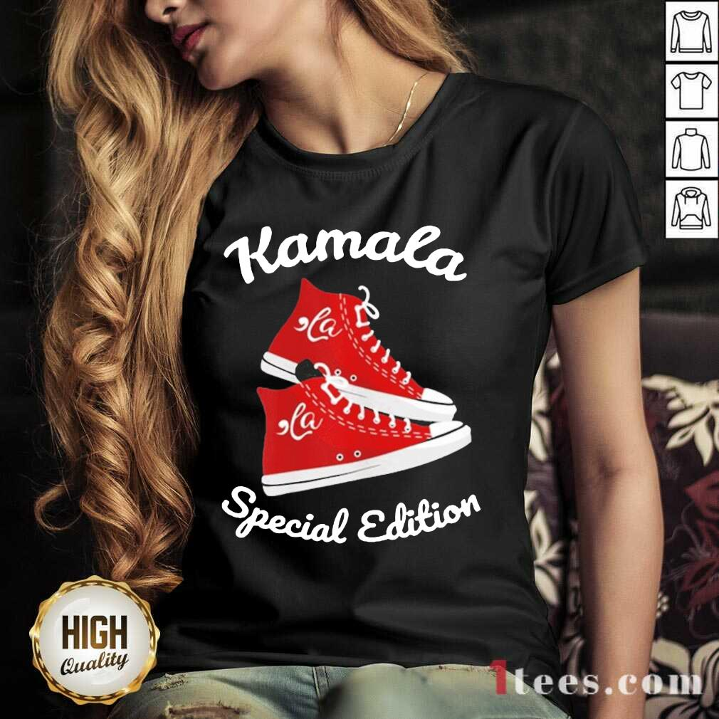Comma La Kamala Harris Sneakers V-neck