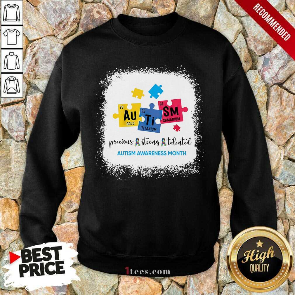 Amused Au Ti Sm Autism Awareness Month Sweatshirt