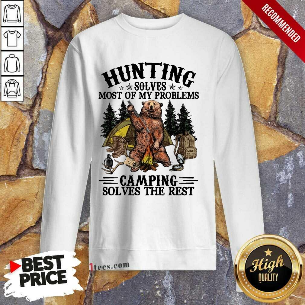 Appalled Bear Hunting Camping Sloves The Rest Sweatshirt