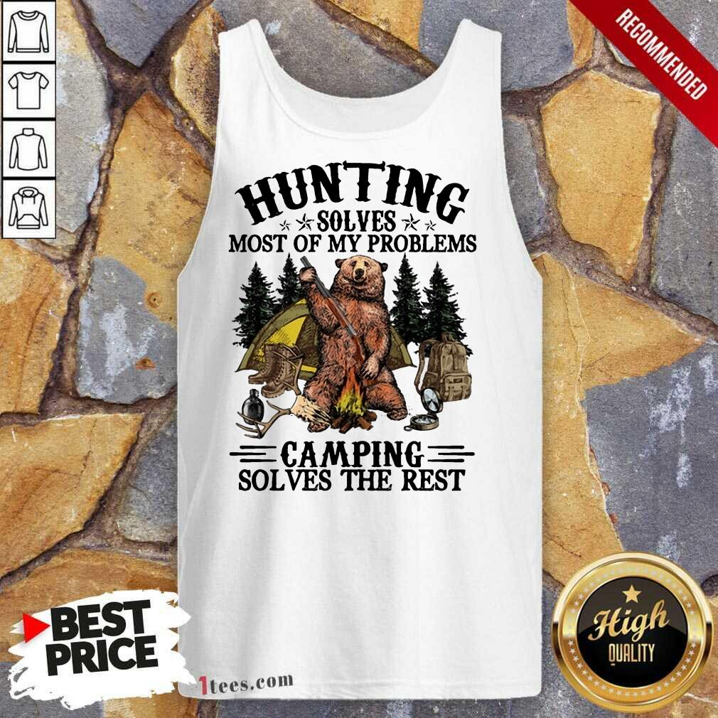 Appalled Bear Hunting Camping Sloves The Rest Tank Top