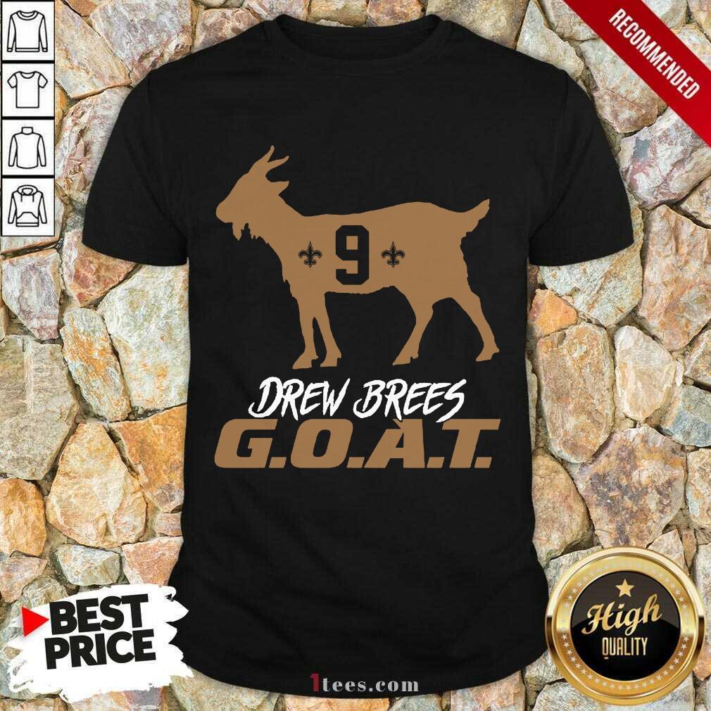 Confident Drew Brees Saints 2021 Shirt