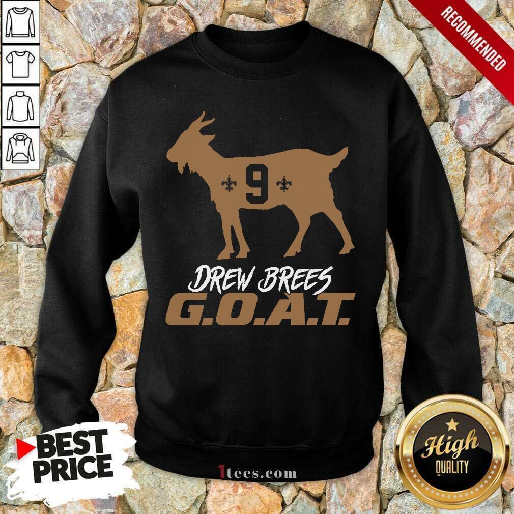Confident Drew Brees Saints 2021 Sweatshirt