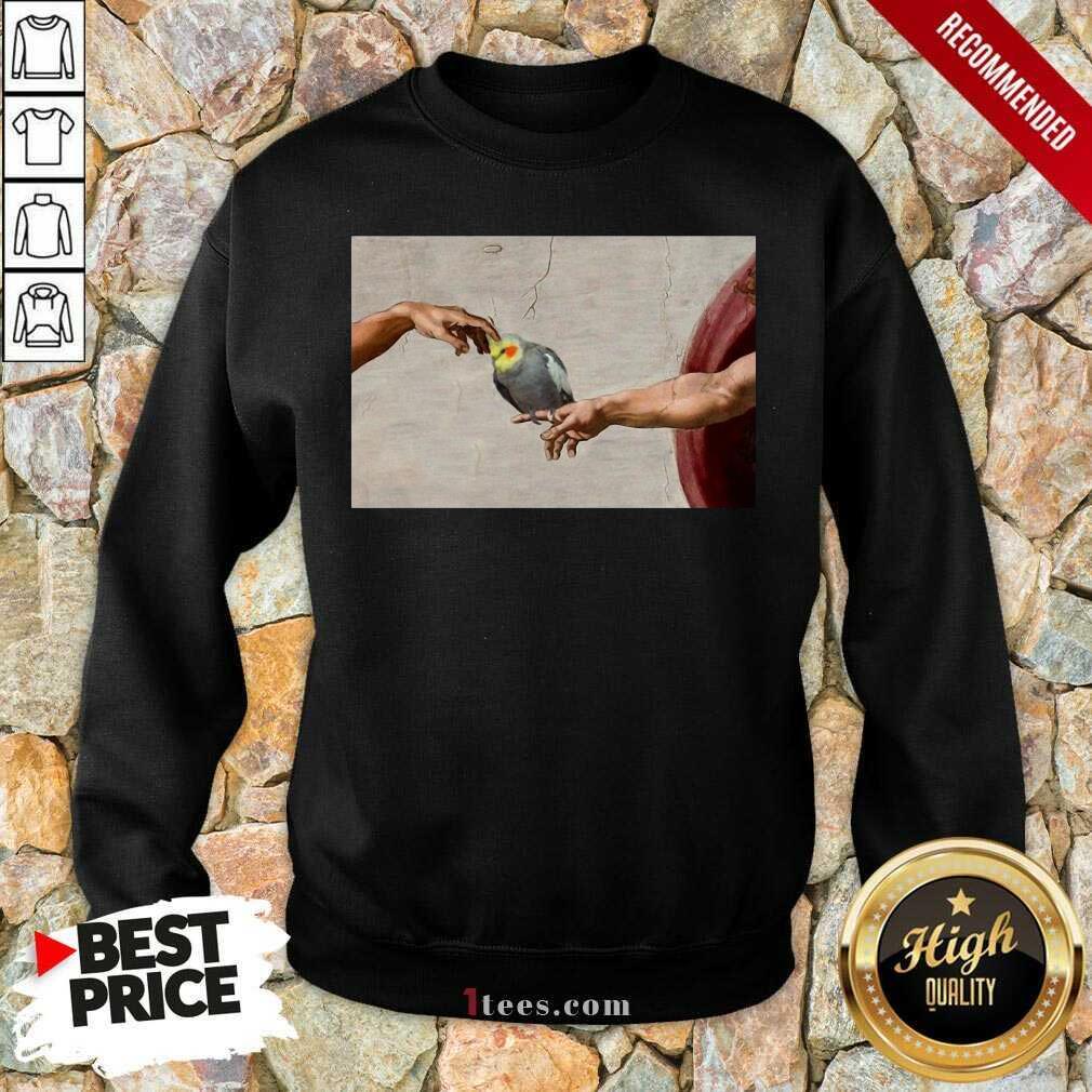 Confident Love Hurts Cockatoo Sweatshirt