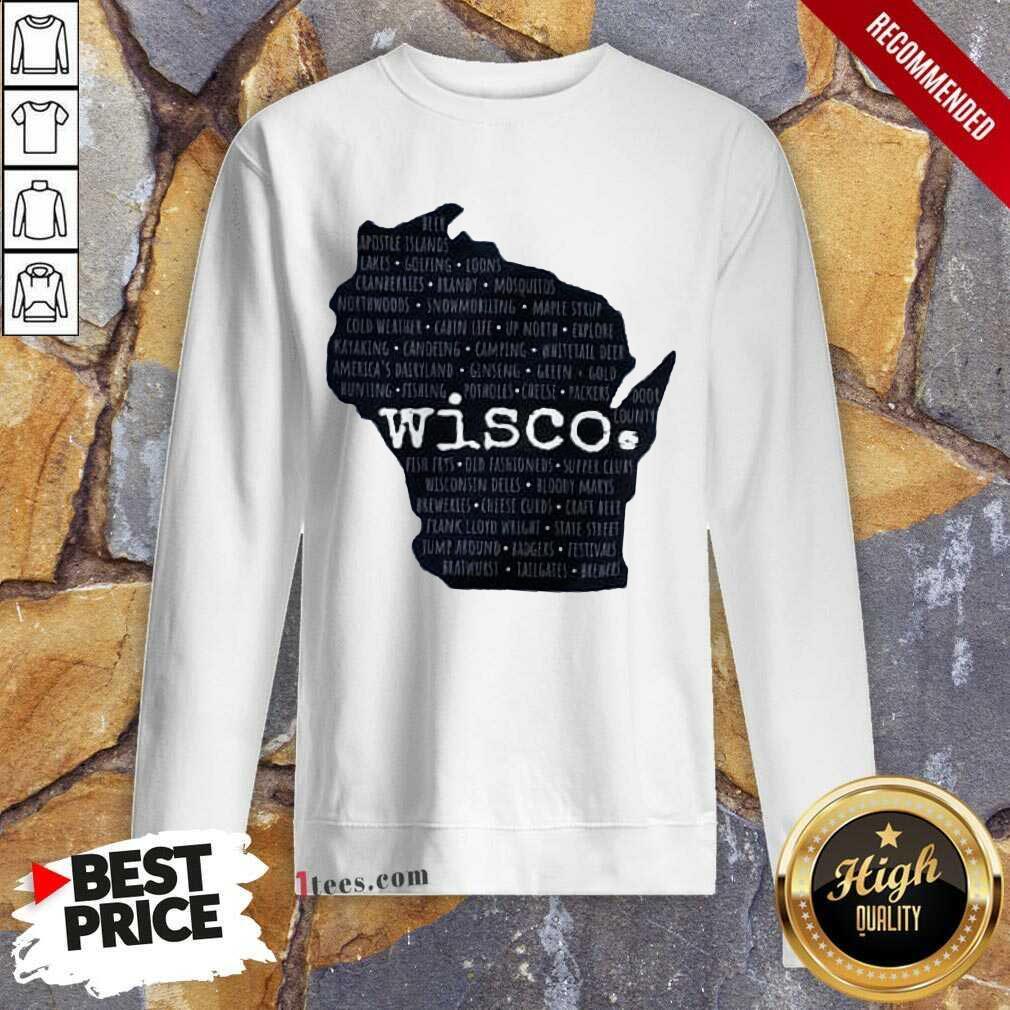 Confident Northern Wisco 2021 Sweatshirt