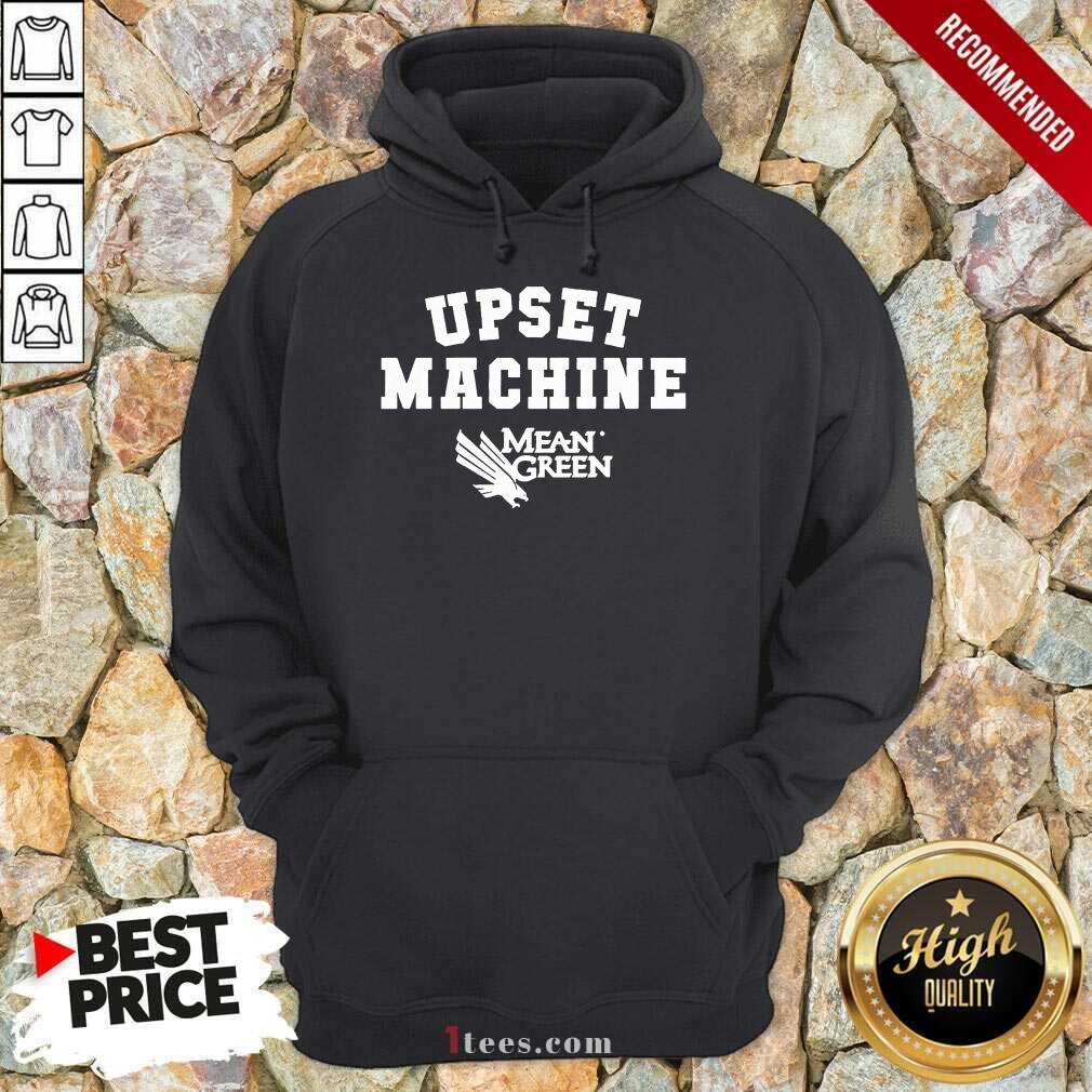 Confident Upset Machine Mean Hoodie Basketball