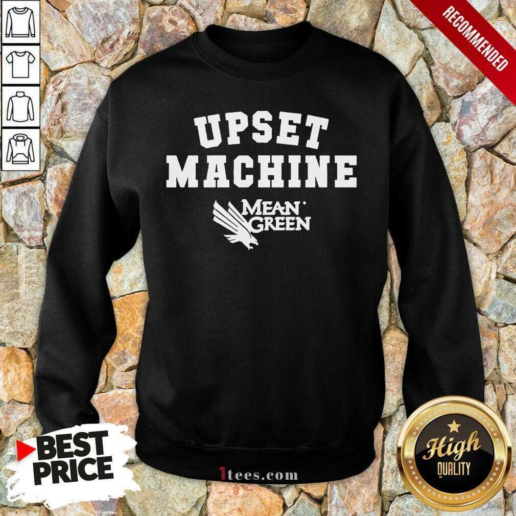 Confident Upset Machine Mean Sweatshirt Basketball