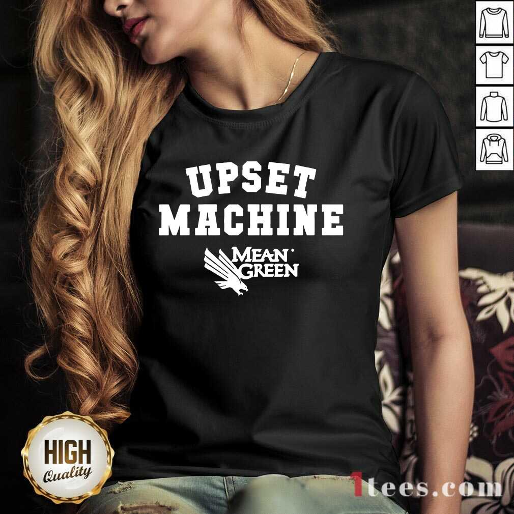Confident Upset Machine Mean V-neck Basketball