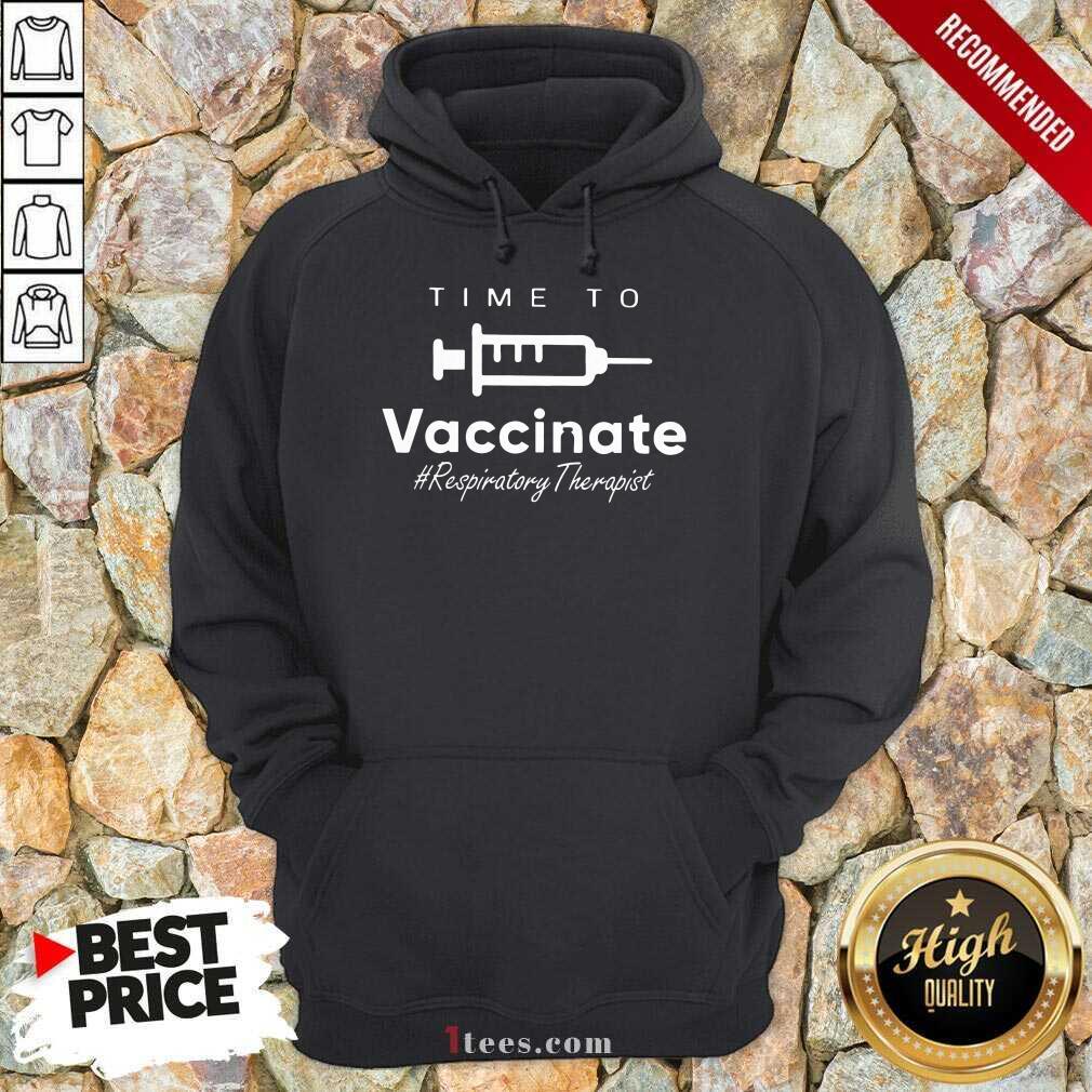 Confident Vaccinate Respiratory Therapist Hoodie