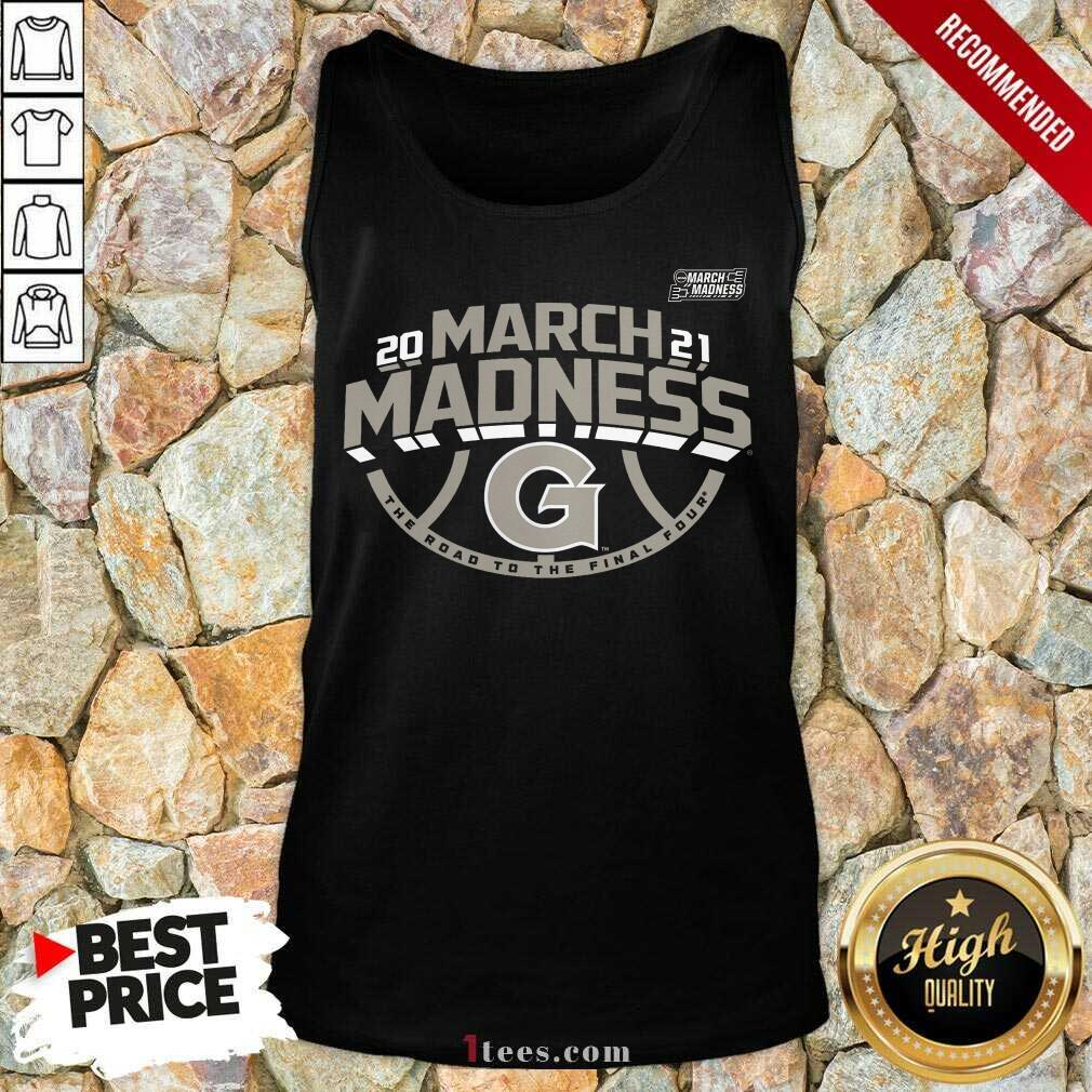 Delighted Georgetown Hoyas 2021 March Tank Top