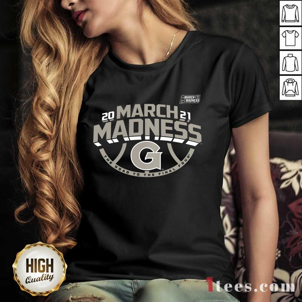 Delighted Georgetown Hoyas 2021 March V-neck