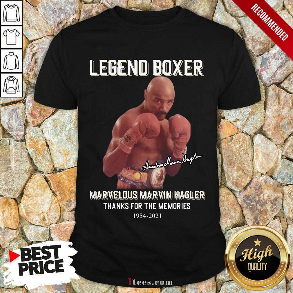 Delighted Marvelous Marvin Hagler 2021 Shirt