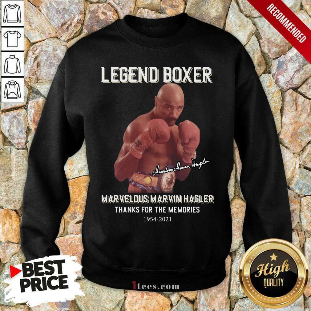 Delighted Marvelous Marvin Hagler 2021 Sweatshirt