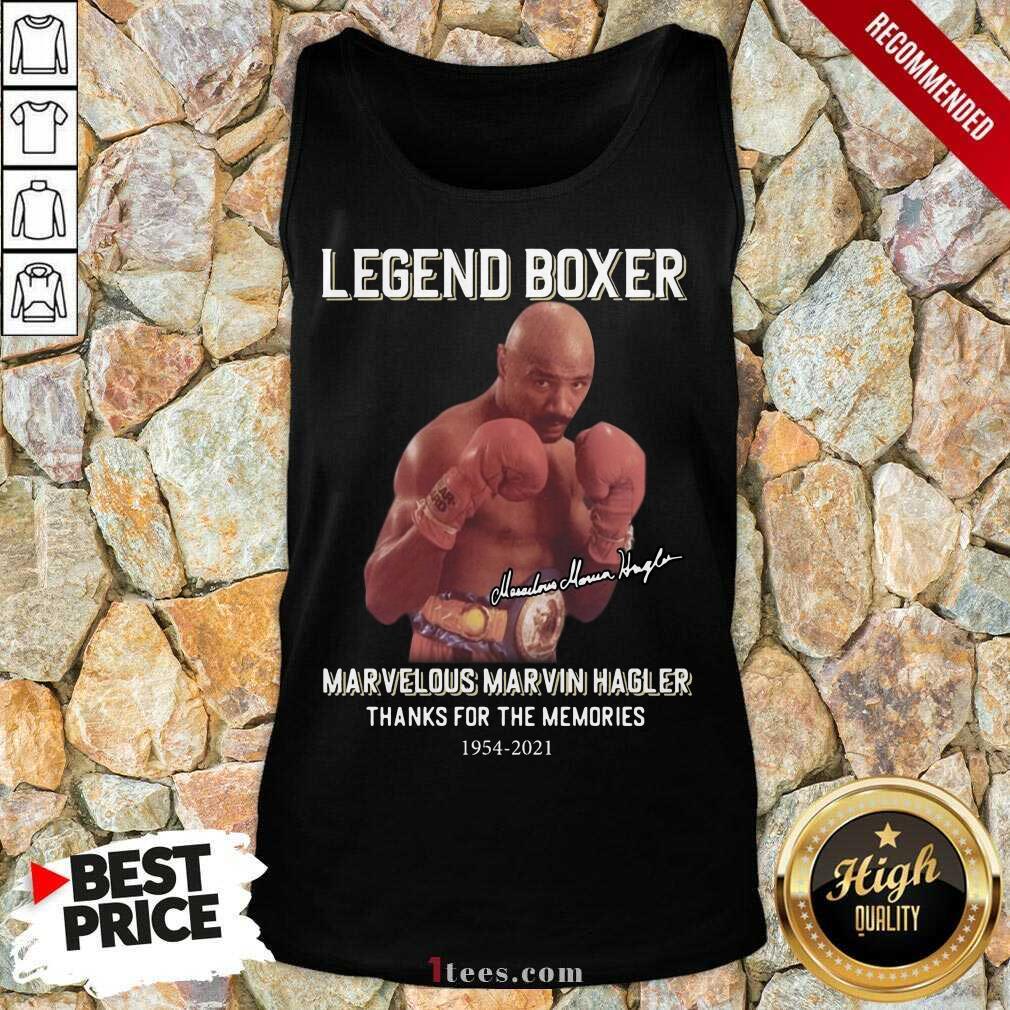 Delighted Marvelous Marvin Hagler 2021 Tank Top