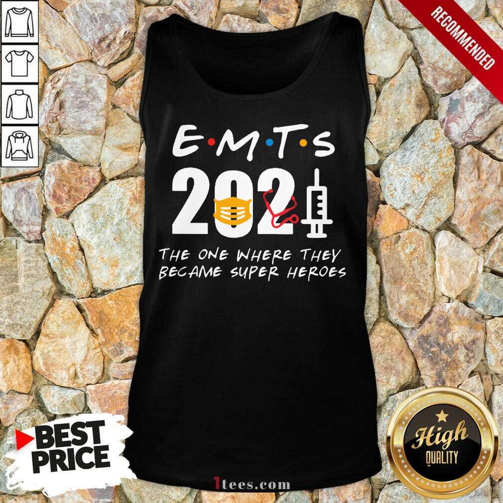 Enthusiastic EMTs 2021 SuperHeroes Tank Top