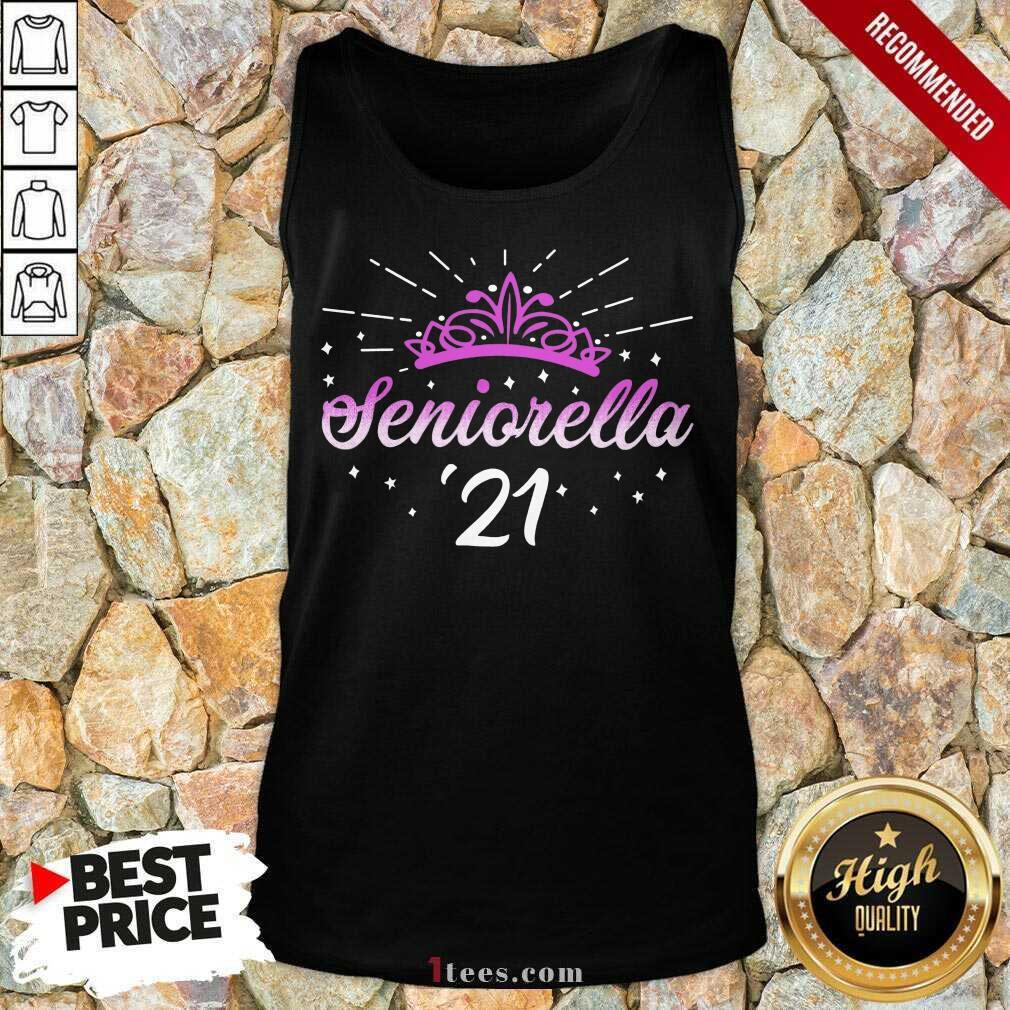 Enthusiastic Seniorella 21 Crown 2021 Tank Top