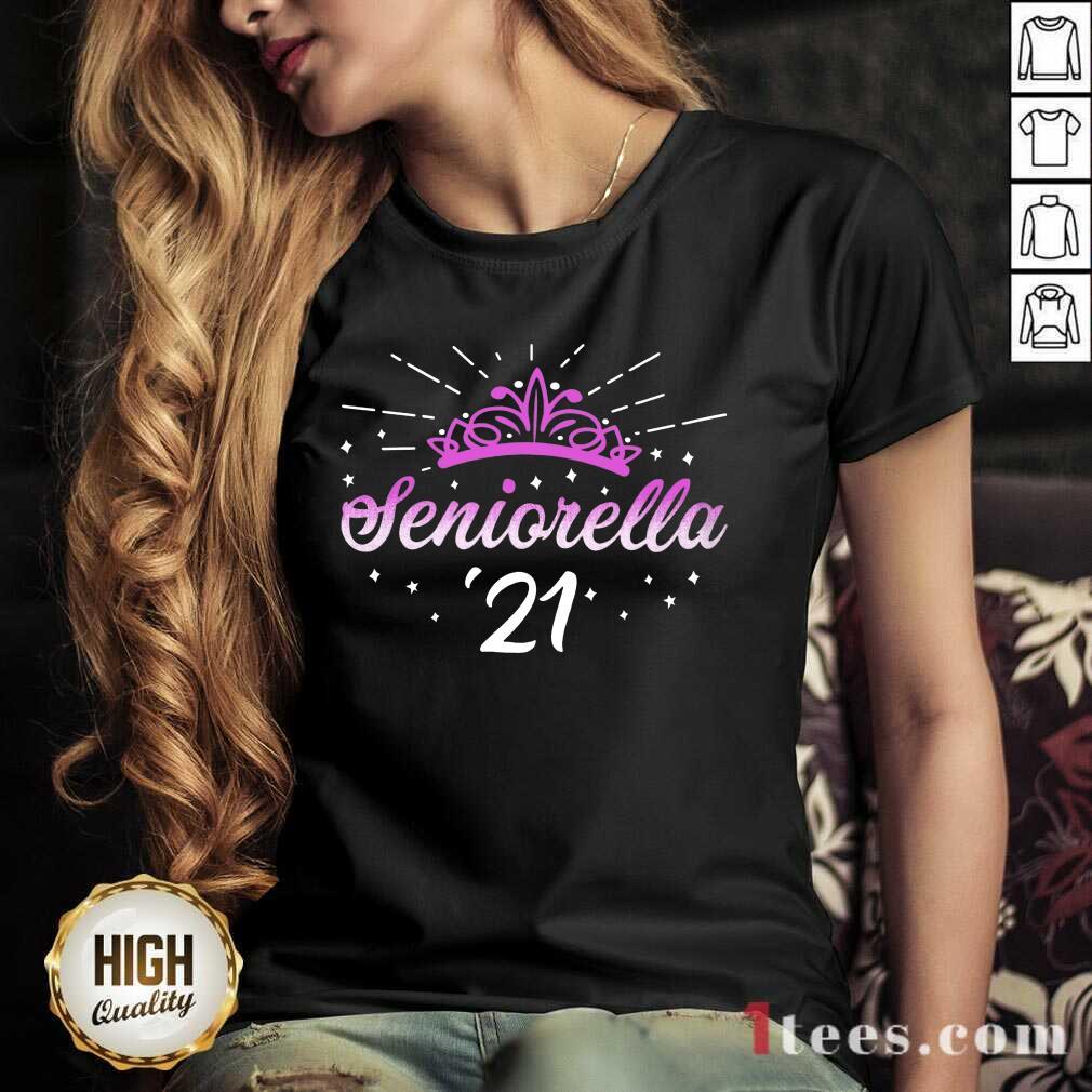 Enthusiastic Seniorella 21 Crown 2021 V-neck