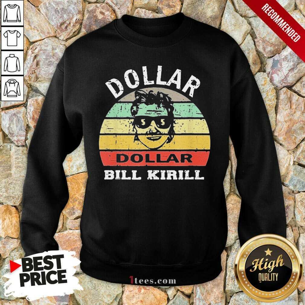 Excited Dollar Bill Kirill Vintage Sweatshirt