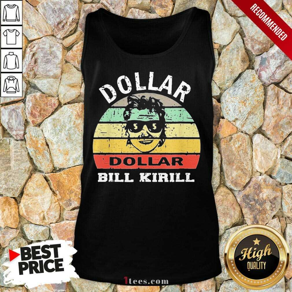 Excited Dollar Bill Kirill Vintage Tank Top