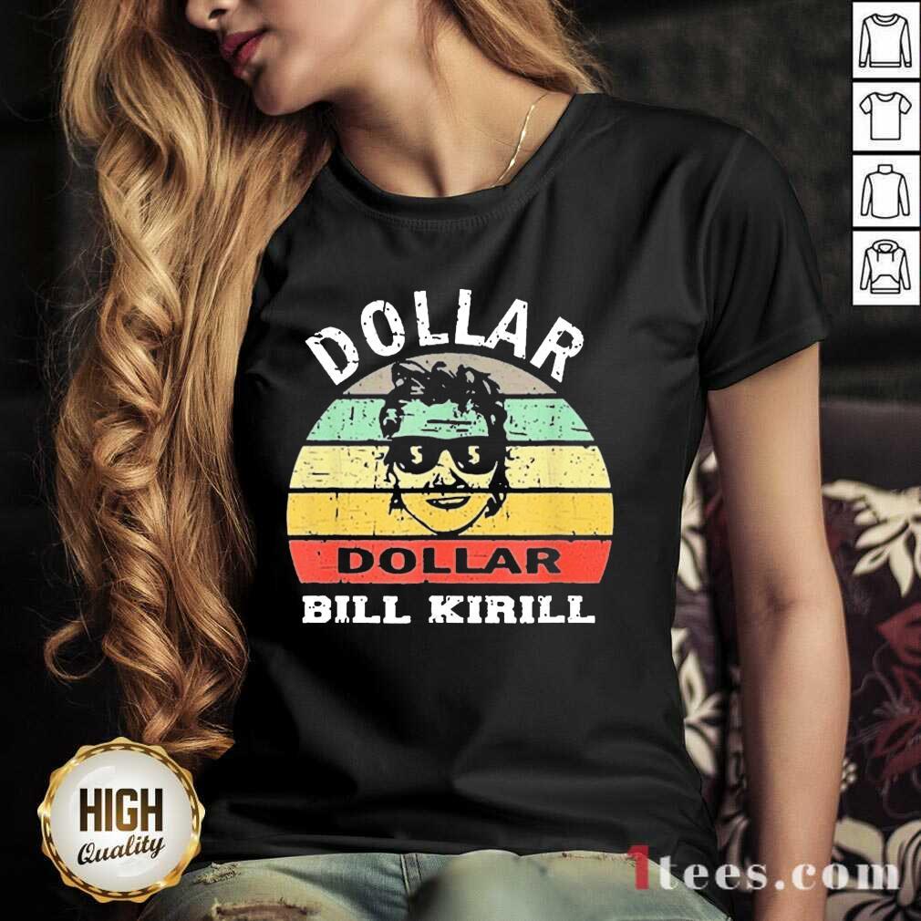 Excited Dollar Bill Kirill Vintage V-neck