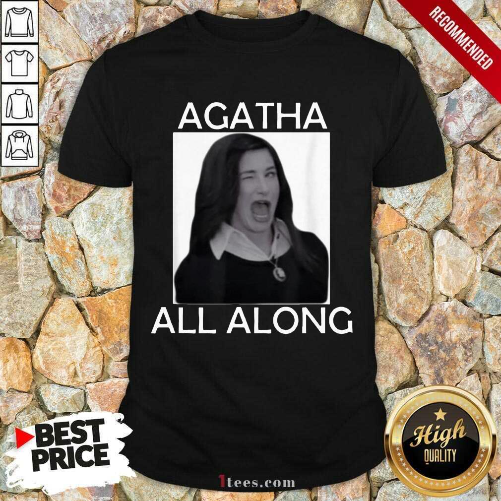 Funny Agatha All Along Marvel Confident 1 Shirt
