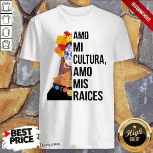 Great Amo Mi Cultura Amo Mis Raices Vintage shirt