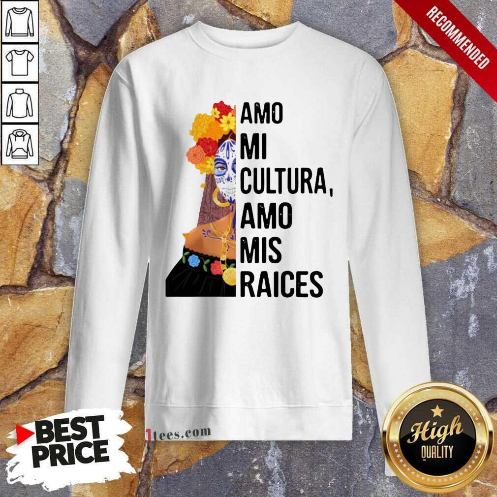 Amo Mi Cultura Amo Mis Raices Vintage Sweatshirt