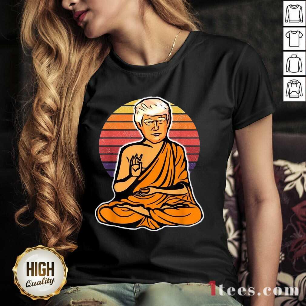 Great Enlightened Trump Buddha 2021 V-neck