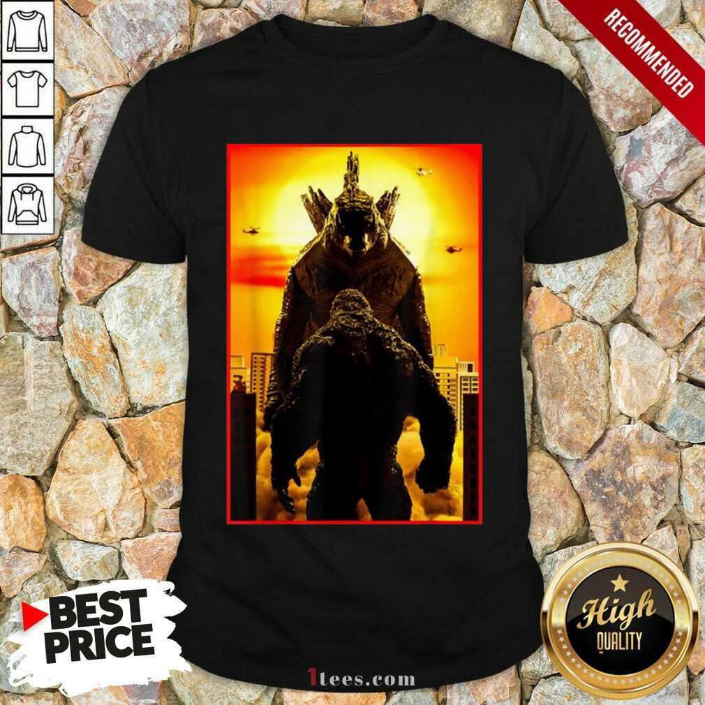 Great Godzilla Vs Kong Official Team 2021 Shirt