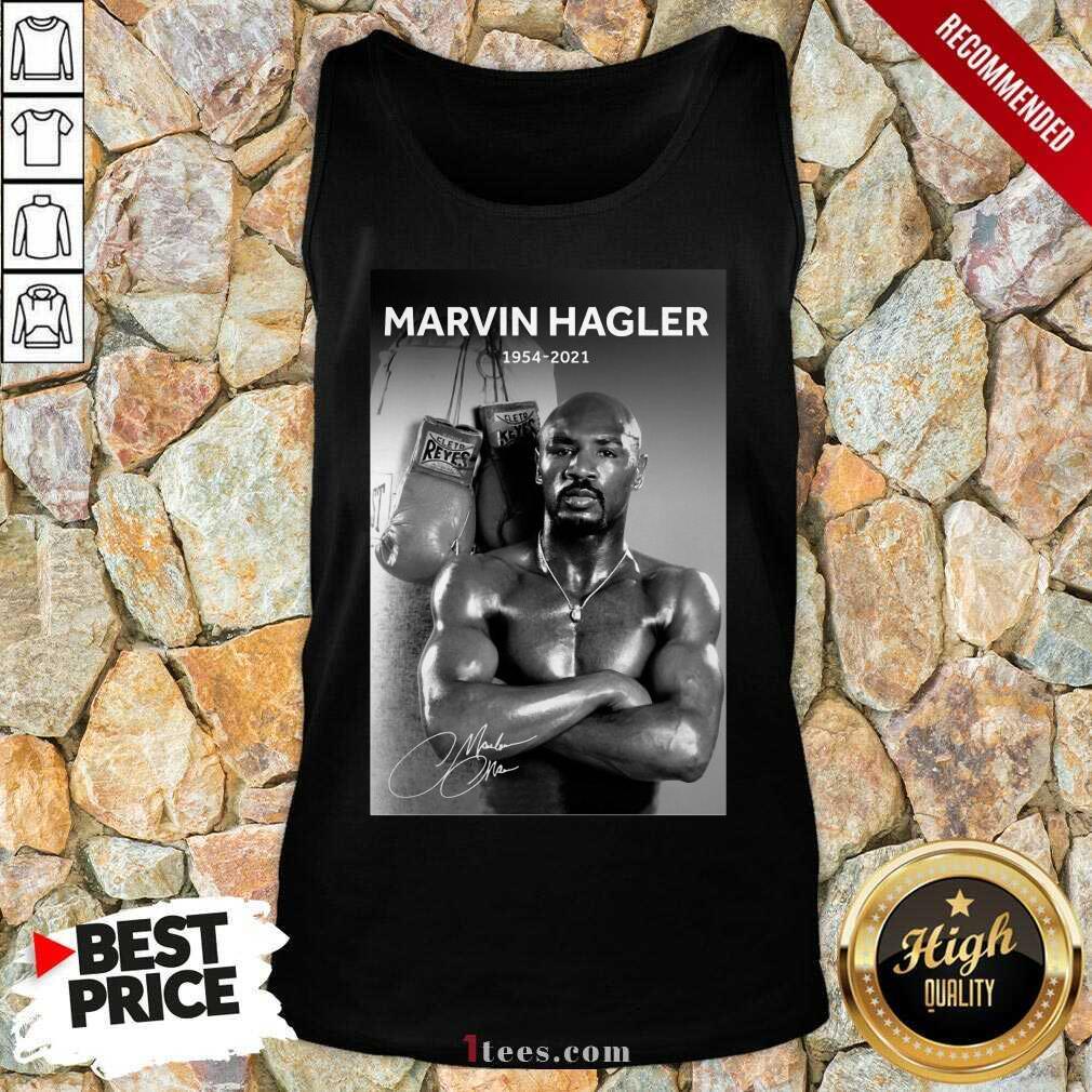 Great Marvelous Marvin Hagler 1954-2021 Tank Top