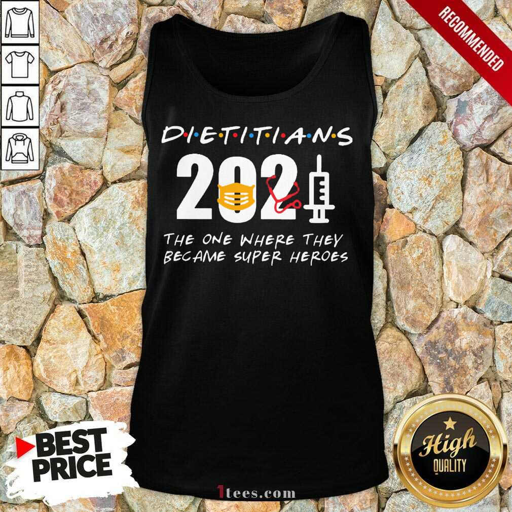 Happy Pretty Dietitians 2021 SuperHeroes Tank Top