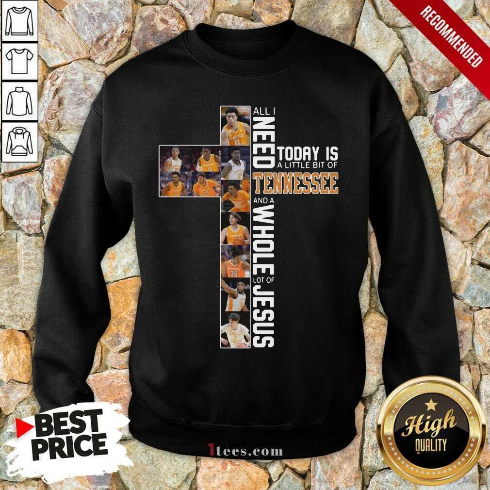 Hot Tennessee Volunteers Jesus Terrific Sweatshirt