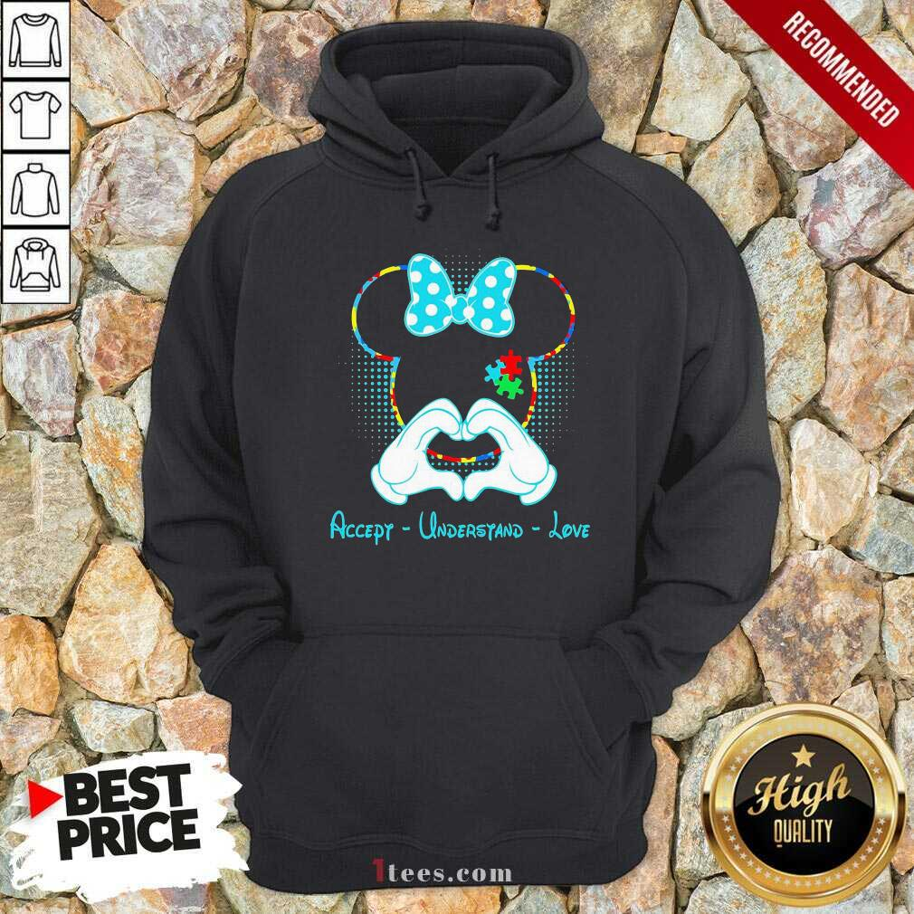 Minnie Mouse Accept Understand Love Hoodie