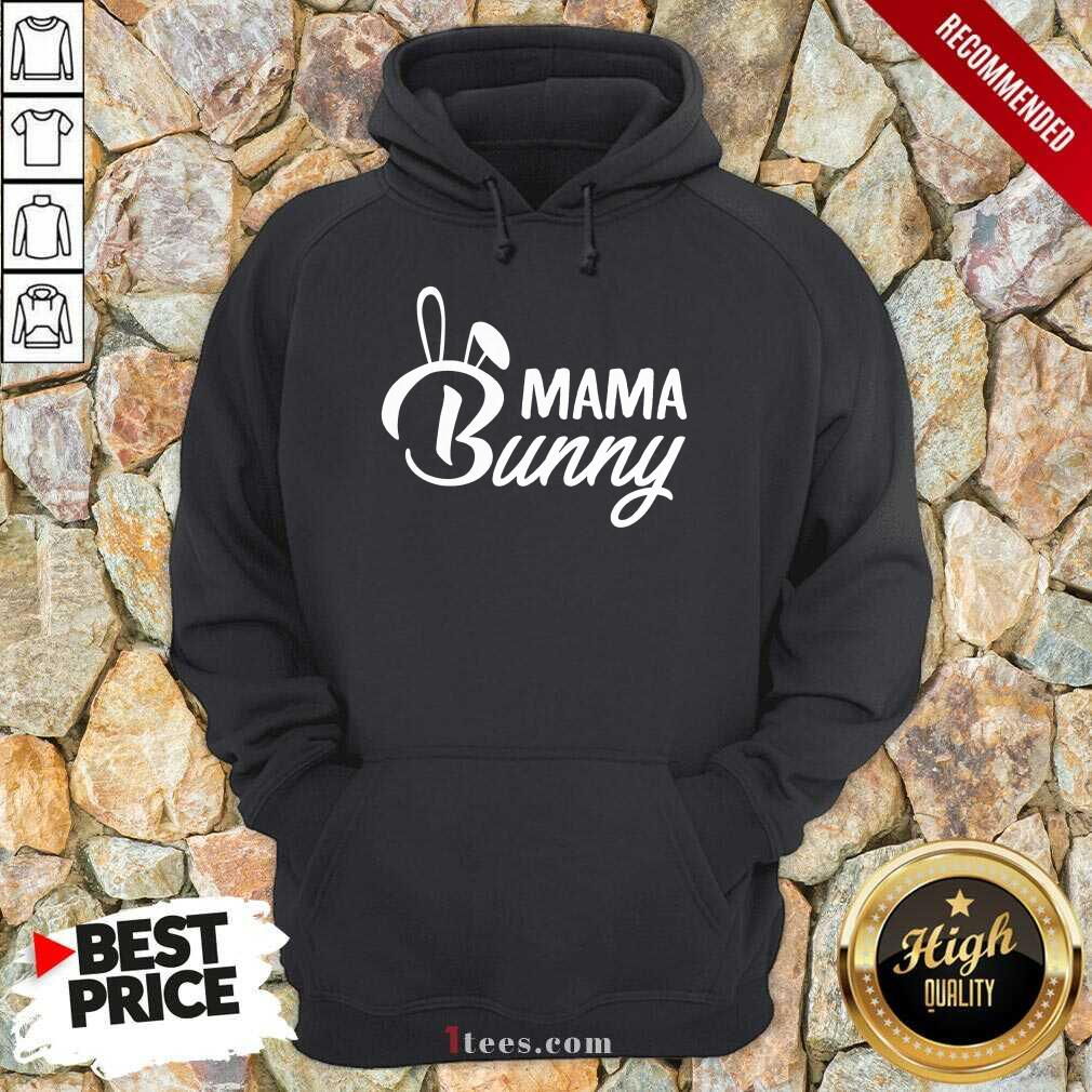 Nonplussed Mama Bunny 2021 Hoodie