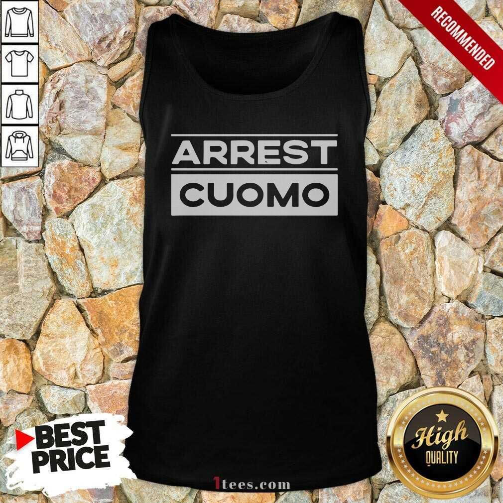 Anti Cuomo Arrest Cuomo Tank Top