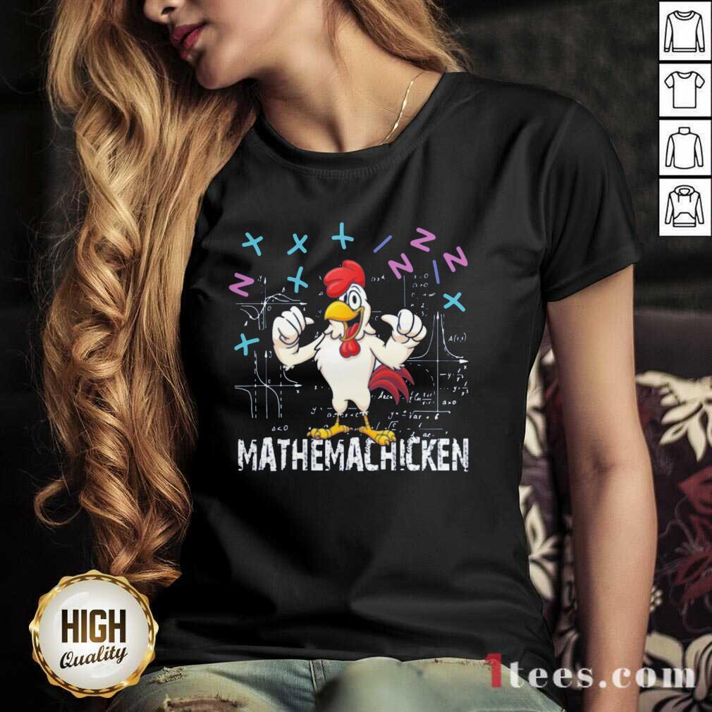 Mathema Chicken 20212 V-neck