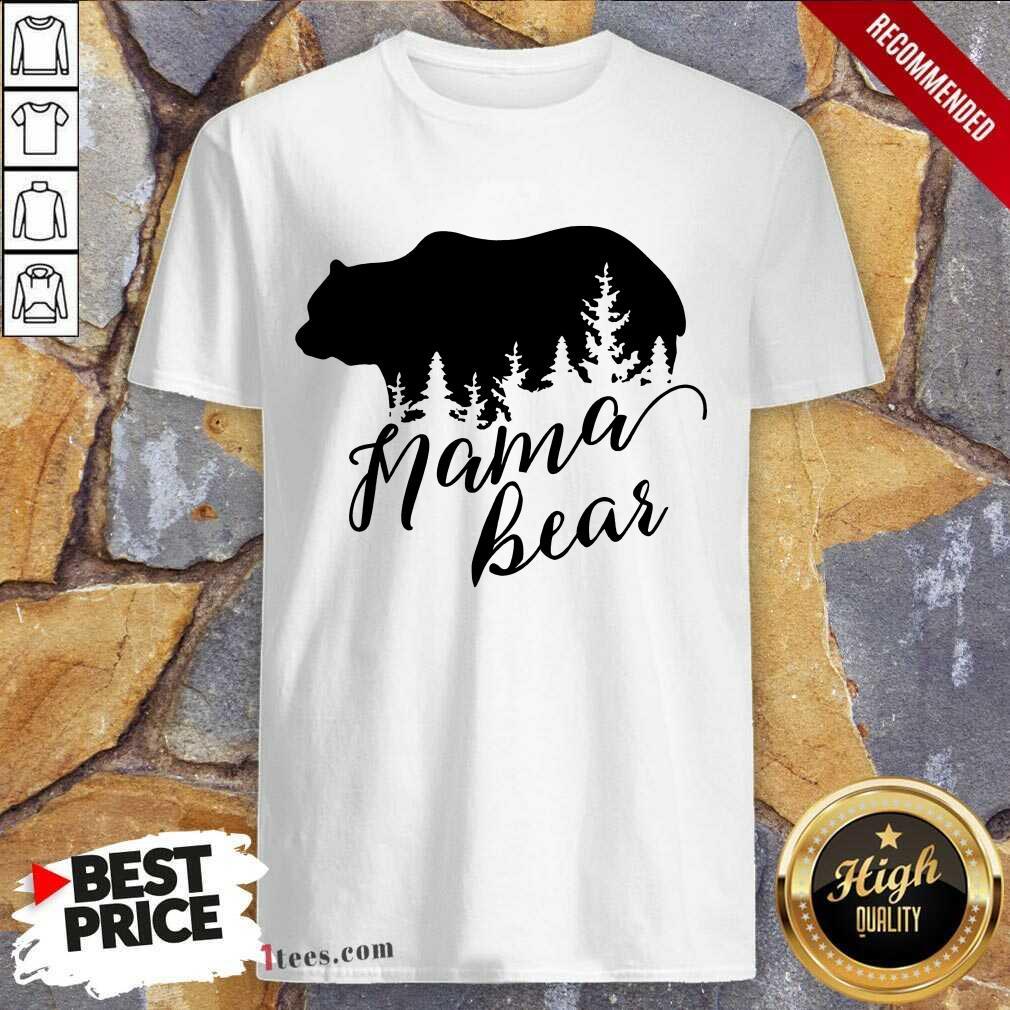Overjoyed Mama Bear Mothers Day Shirt
