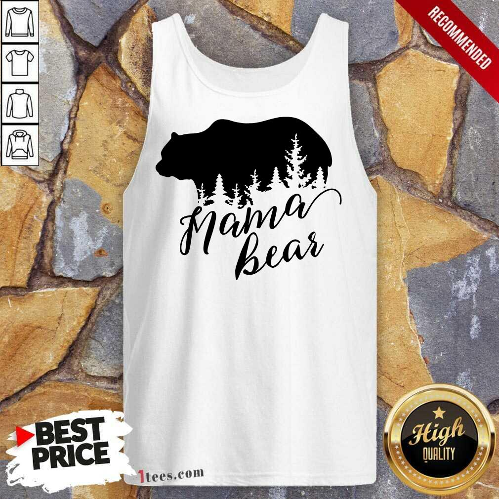 Overjoyed Mama Bear Mothers Day Tank Top