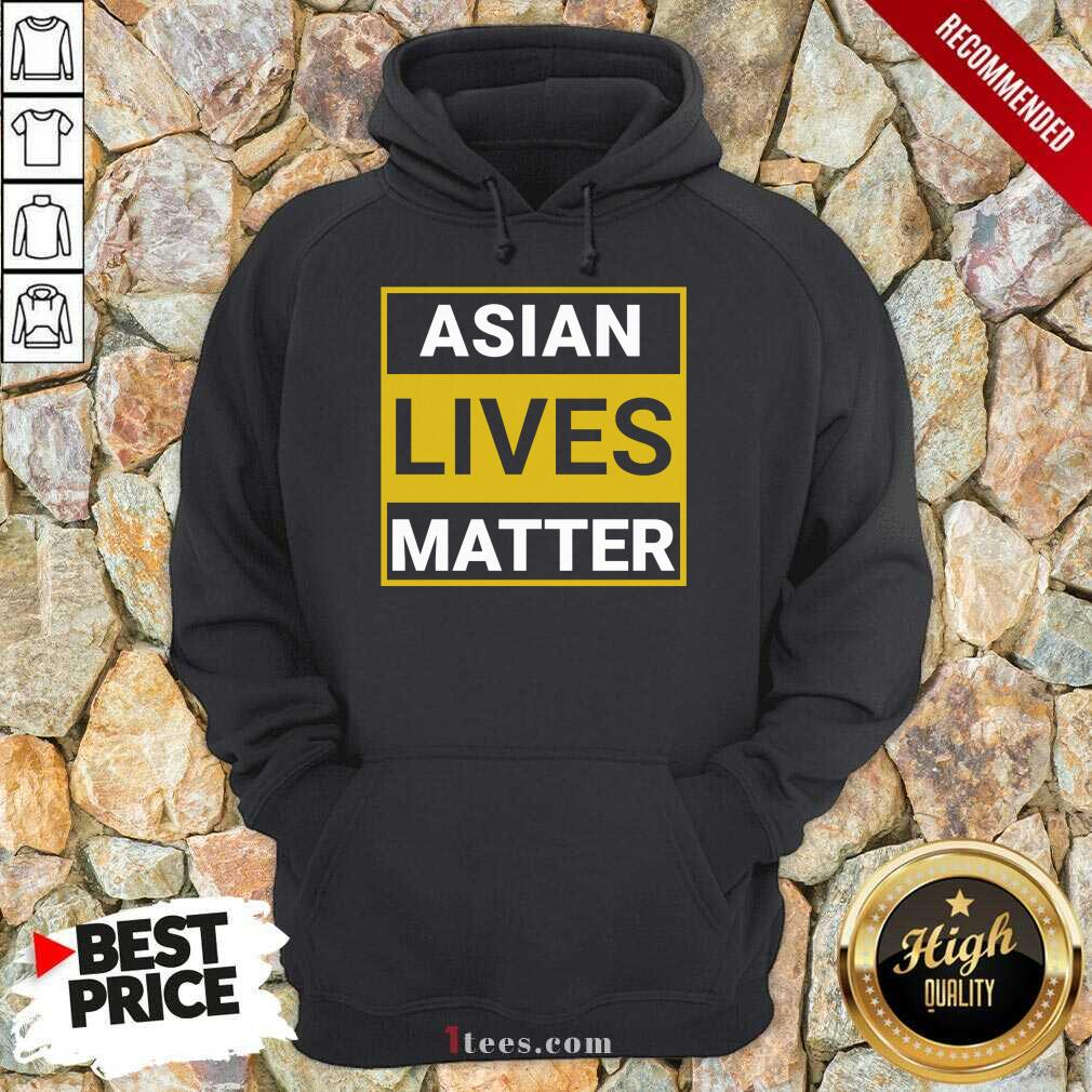 Overwhelmed Asian Lives Matter Hoodie