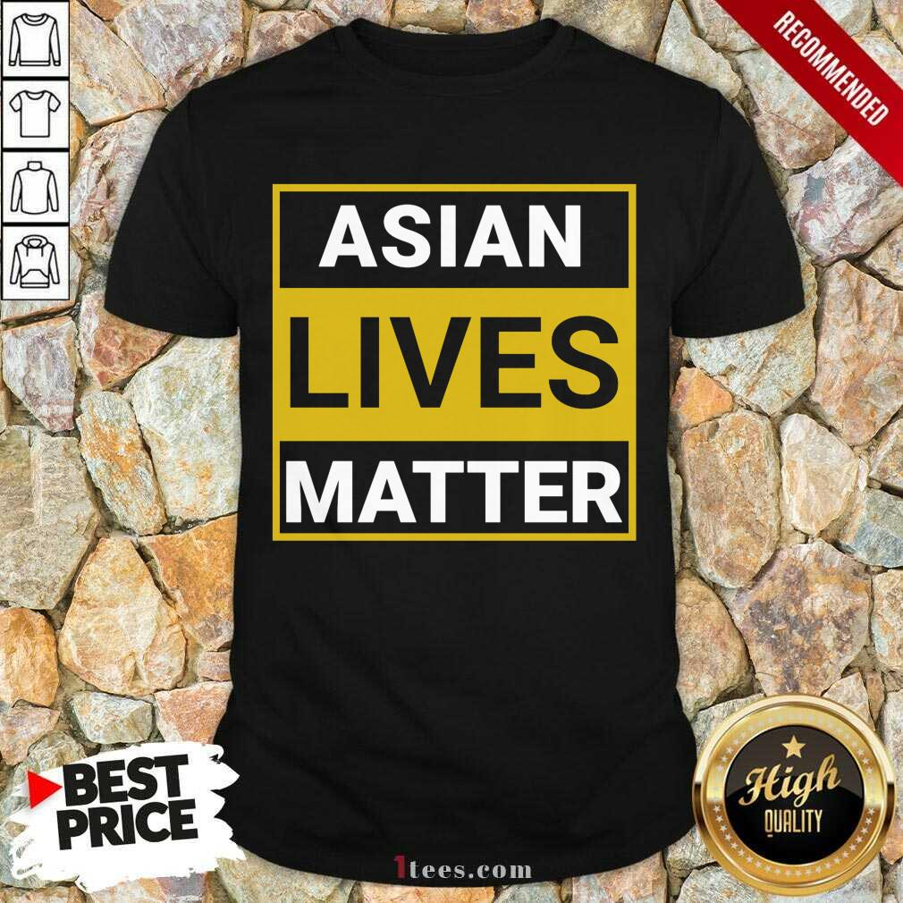 Overwhelmed Asian Lives Matter Shirt