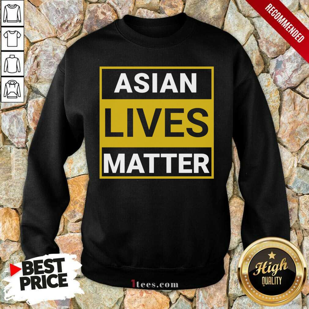 Overwhelmed Asian Lives Matter Sweatshirt
