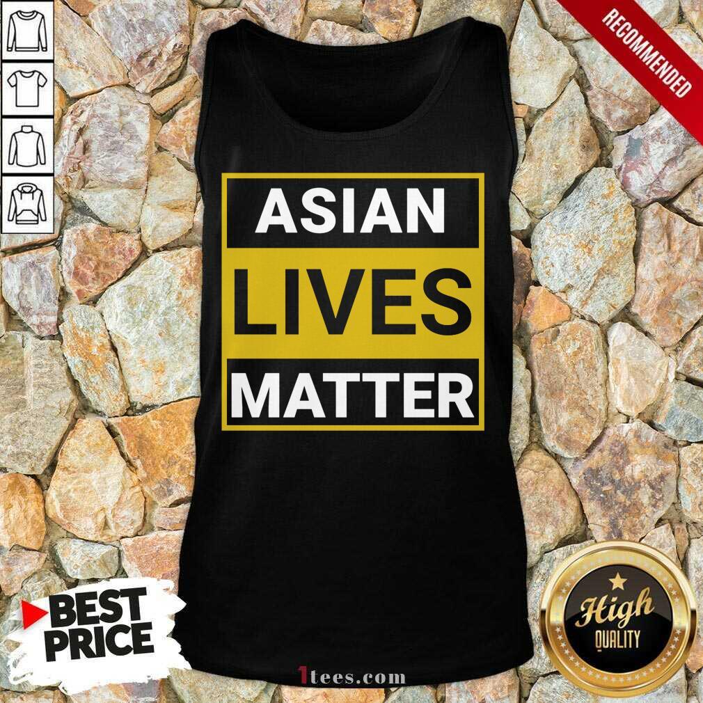 Overwhelmed Asian Lives Matter Tank Top