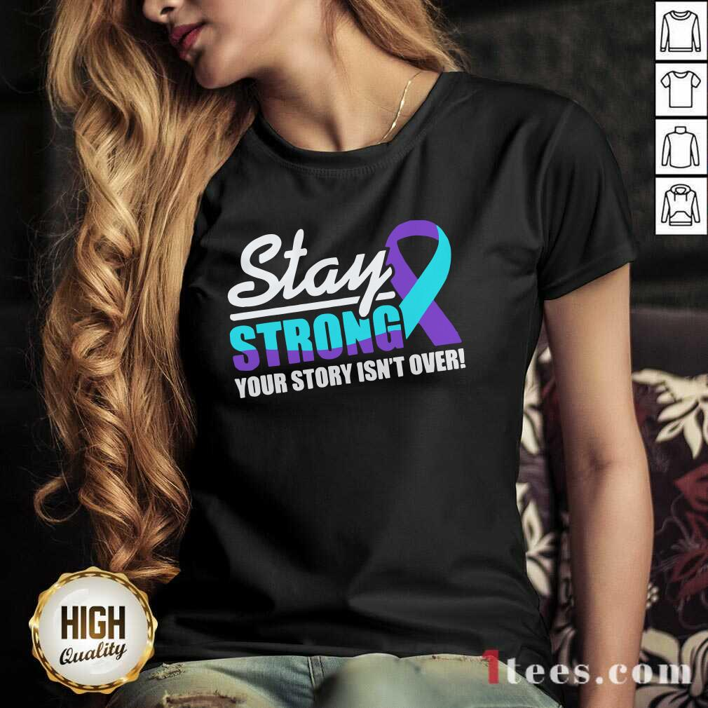 Stay Strong Suicide Awareness V-neck