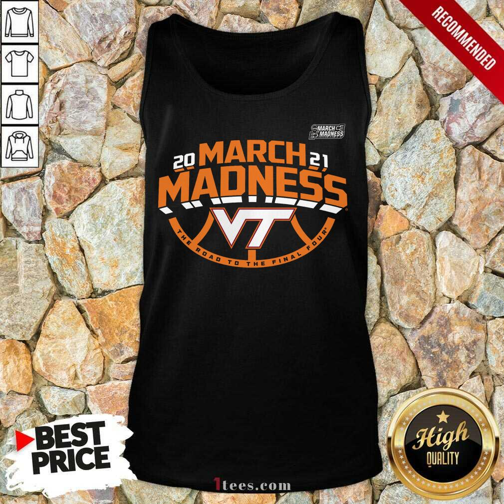 Positive Maroon Virginia Hokies 2021 March Tank Top