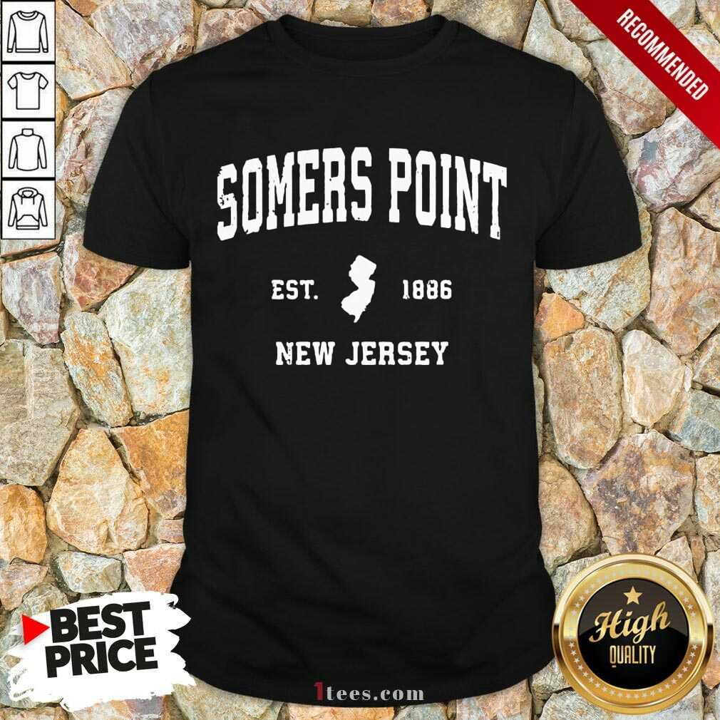 Premium Somers Point New Jersey 1886 Shirt