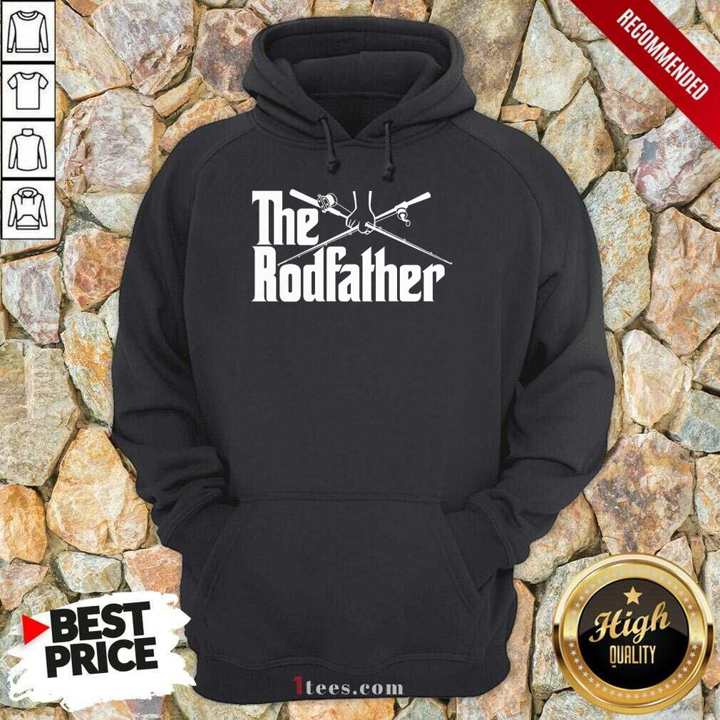 Surprised The Rodfather Fishing 2021 Hoodie