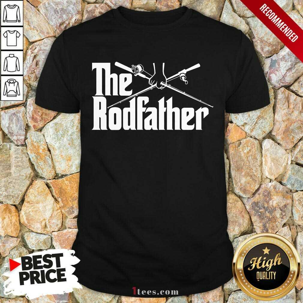 Surprised The Rodfather Fishing 2021 Shirt