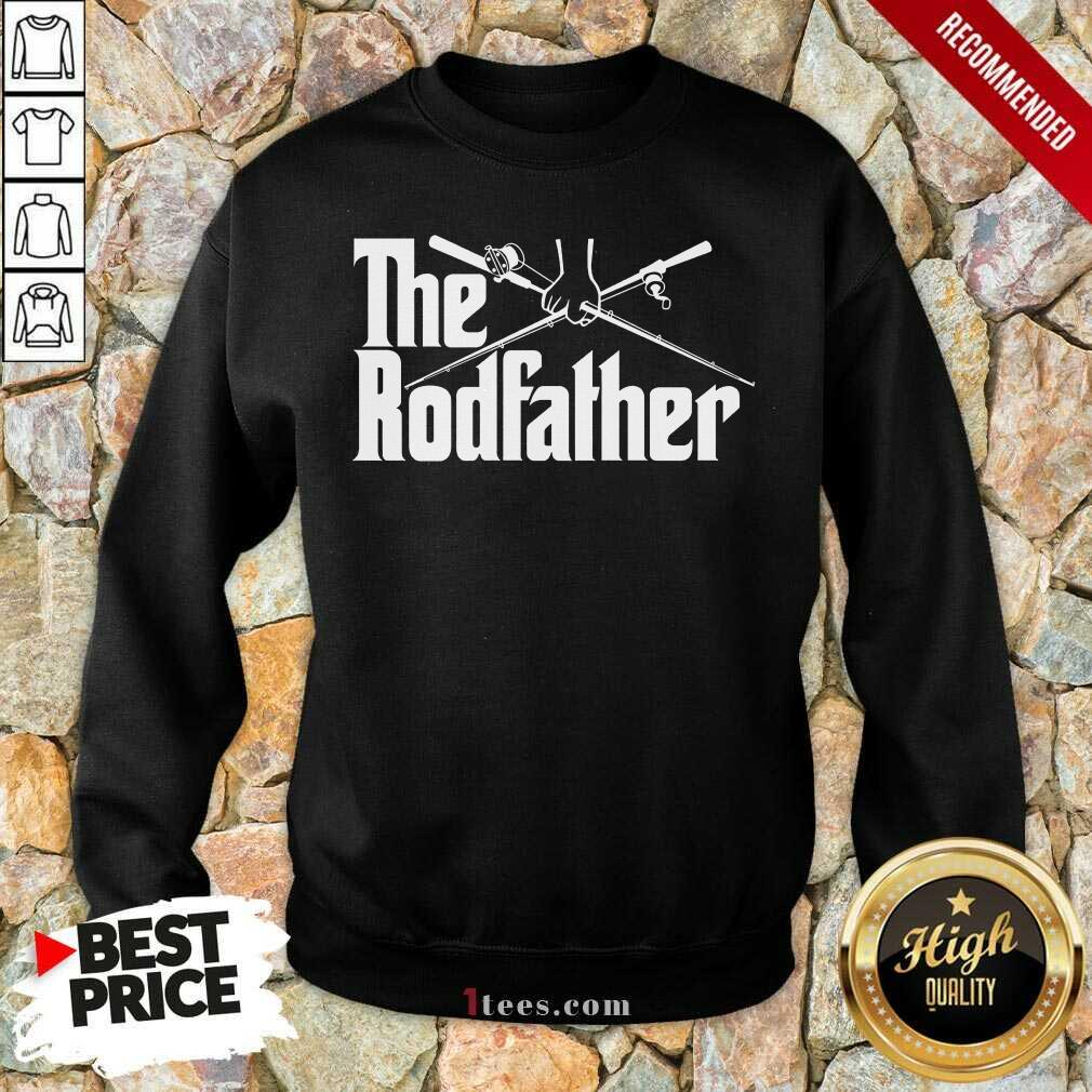 Surprised The Rodfather Fishing 2021 Sweatshirt